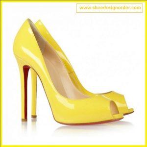 Stiletto ShoeS Yellow