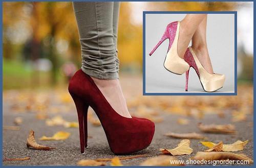 Platform Shoe Design Order