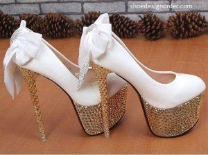 Platform Bridal Shoes Model & Women Shoe Order