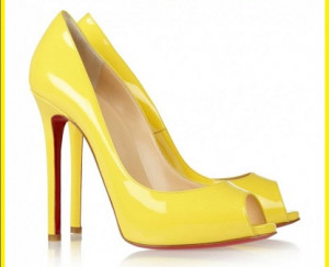 Stiletto ShoeS Yellow