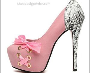 Platform Heeled Women's Shoes Order