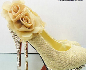 Platform Bridal Shoes Model Yellow & Women Shoe Order