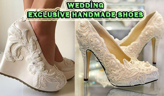 Wedding Dress Shoes Models – Exclusive Handmade Shoes