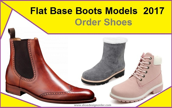 Flat Base Boots Models 2017 – Order Shoes