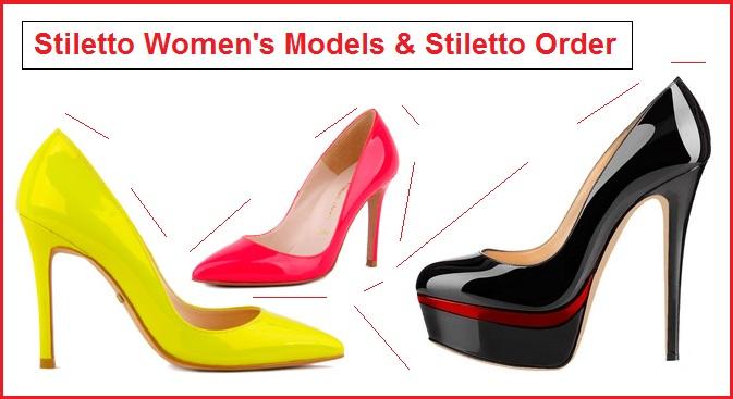 Stiletto Women's Models – Stiletto Order