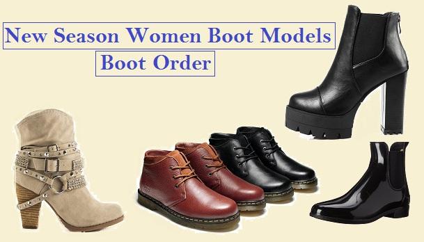 New Season Women Boot Models – Boot's Order