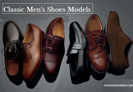 Men's Shoe Models and Prices for 2017 / Shoe Design Order