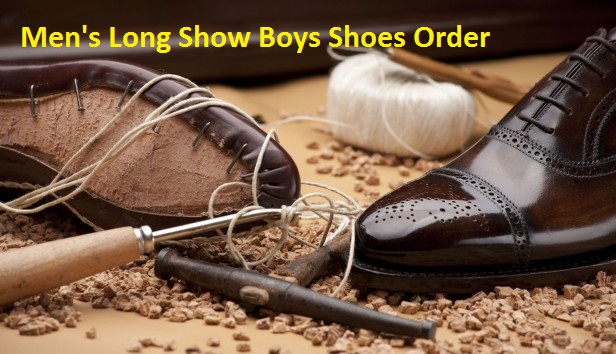 Men's Long Show Boys Shoes Order – Asil Shoes