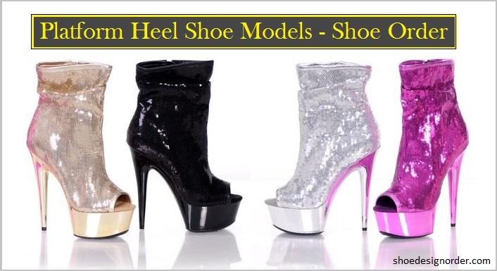 Women's Platform Heel Shoe Models – Shoes Order