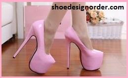 Platform Heel Shoe Models