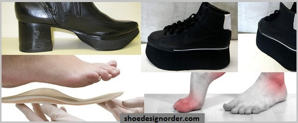 Hidden Heel Orthopedic Shoes Order