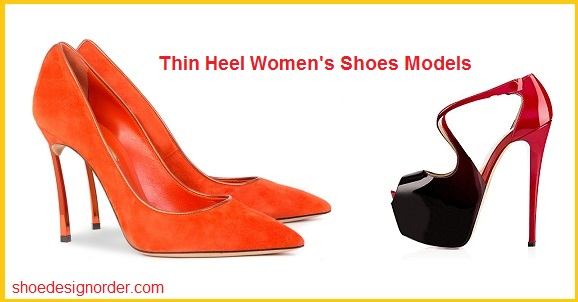 Thin Heel Women's Shoes Models
