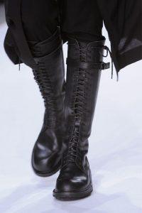man boots black
