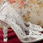 cinderalla wedding shoes