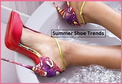 2017 Summer Shoe Trends