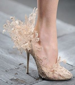 lace angel stilletto