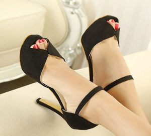 open toe pumps