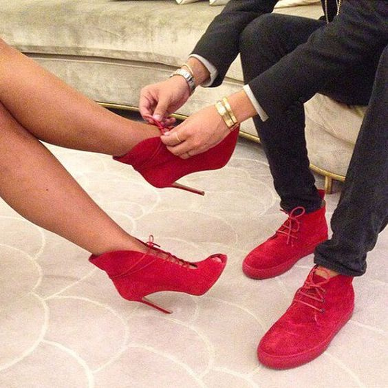 How About This: Matching Couple Shoes